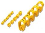 Маркировочная этикетка кабеля  0800420 PMH 0:ZAHLEN 0