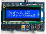 Миникомпьютеры  и аксессуары к ним  Blue&White 16x2 LCD+Keypad Kit for Raspberry Pi