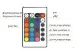 Контроллер управления LED  24-key Infrared Controller