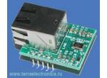 Оценочная плата для ИМС интерфейса  ENC28J60-H