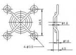 Решетка вентилятора  FG-03