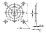 Решетка вентилятора  FG-05