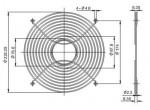 Решетка вентилятора  FG-25