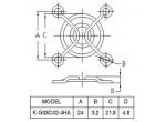 Решетка вентилятора  K-G03C02-4HA