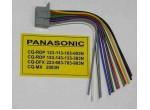 Разъемы для автомагнитол Разъем а/м PANASONIC 123