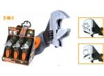 Клещи трубные и сантехнические Ключ разводной TACTIX 900061 2в1