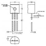 Транзистор биполярный стандартный  2SC945P