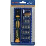 Отвертка, ключ YX-8017C отвертка с насадками