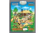 Электронные игрушки Звуковой плакат Домашние Животные