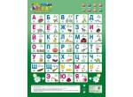 Электронные игрушки Звук плакат Говорящая АЗБУКА 8кнопок