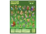 Электронные игрушки Звуковой плакат Весёлый Оркестр